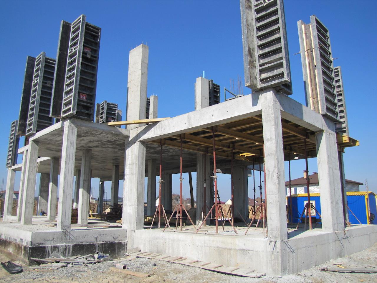 Монолитно-каркасное строительство дома своими руками от и до 21
