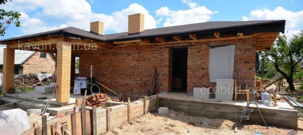 Строительство гостевого дома с подвалом