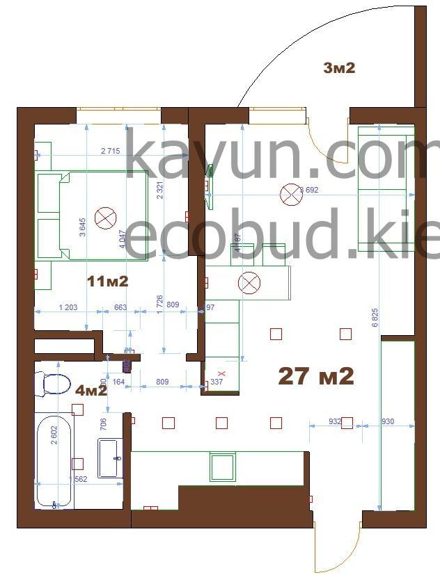 Ремонт і перепланування квартири в ЖК